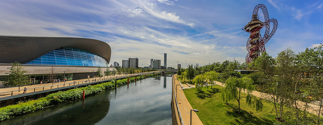 Queen Elizabeth Olympic Park © Simon Hadleigh-Sparks - All rights reserved.